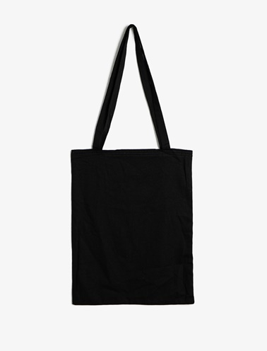 Koton Yazılı Baskılı Çanta Siyah